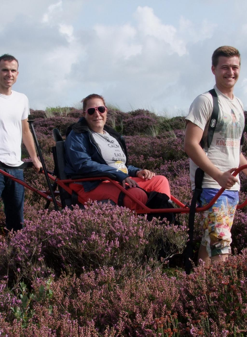 rolstoelreis naar Terschelling